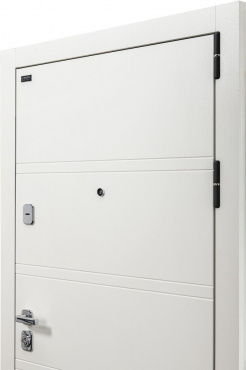 Входная дверь металлическая el Porta Porta M 8.Л28 White Stark/Virgin