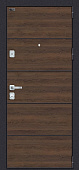 Входная дверь металлическая el Porta Porta M П50.Л22 Tobacco Greatwood/White Softwood